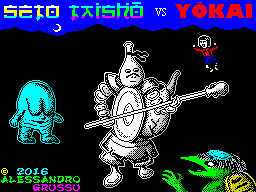 Seto Taisho Vs Yokai (Loading Screen)