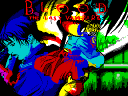 Blood. The Last Vampire