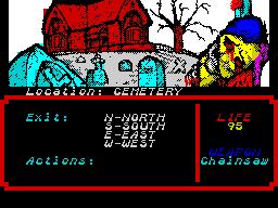 Zombi Terror 1 - Cemetery