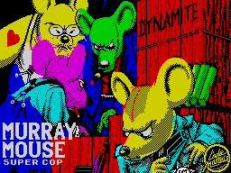 Murray Mouse Supercop