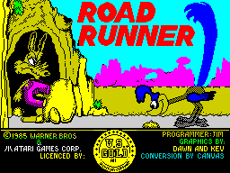 Road Runner title