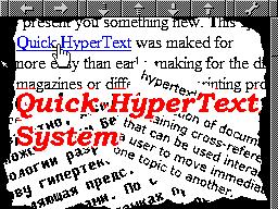 Quick Hyper Text System Viewer help gfx