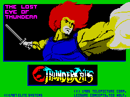 Thundercats - alternate loading screen