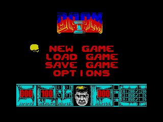 Doom 8 menu (Doom 8 menu)