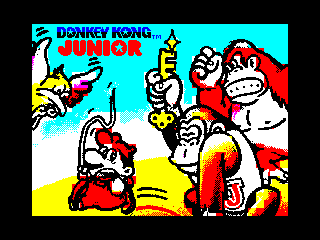 Donkey Kong Jr - Loading Screen (Donkey Kong Jr - Loading Screen)