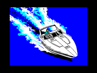 ZX Grand Theft Auto Vice City - Speedboat (ZX Grand Theft Auto Vice City - Speedboat)