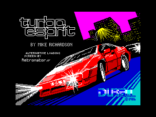 Turbo Esprit Alternative Loading Screen (Turbo Esprit Alternative Loading Screen)