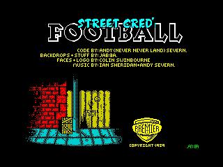 Street Cred' Football (Street Cred' Football)