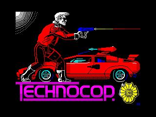 Techno Cop demo version (Techno Cop demo version)