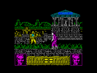 Altered Beast in-game (Altered Beast in-game)
