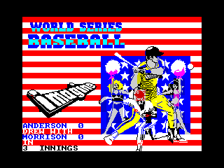 World Series Baseball (World Series Baseball)