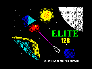 Elite 128 loading screen (Elite 128 loading screen)