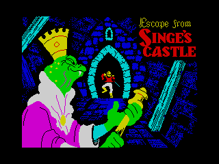 Dragon's Lair II - Escape From Singes Castle (Dragon's Lair II - Escape From Singes Castle)