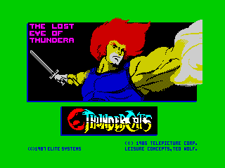Thundercats - alternate loading screen (Thundercats - alternate loading screen)