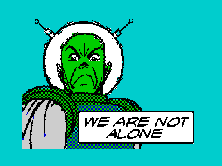 We Are Not Alone (We Are Not Alone)