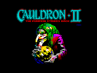 Cauldron walkthrough zx spectrum видео смотреть