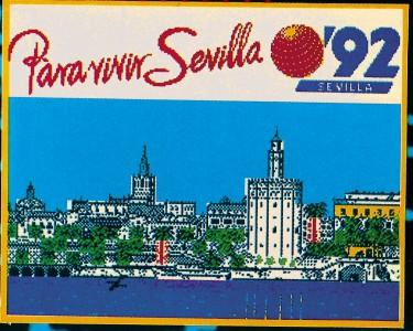 Para vivir Sevilla'92 another inspiration