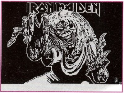 IRON MAIDEN another inspiration