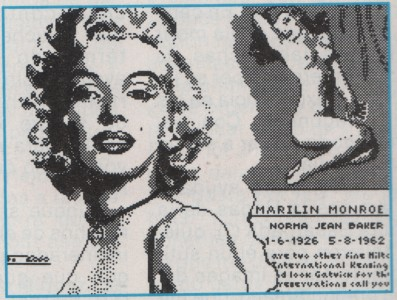 MARILIN MONROE another inspiration