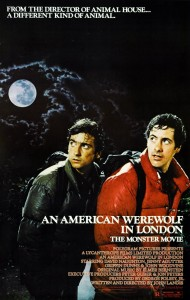 American Werewolf in London another inspiration