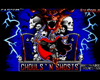 Ghouls 'n' Ghosts another inspiration