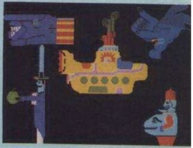 Early and unpublished: 21-Yellow-Submarine another inspiration