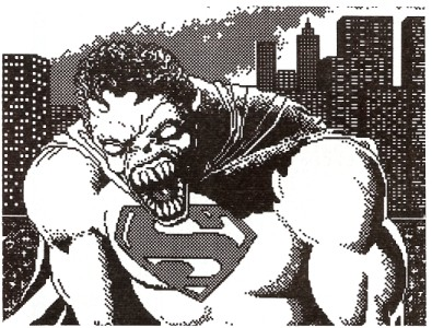 Superman Werewolf another inspiration