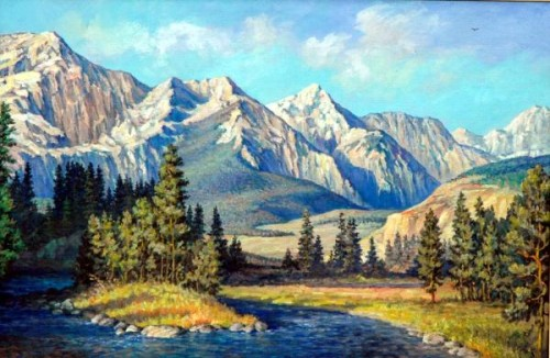 Mountain River inspiration