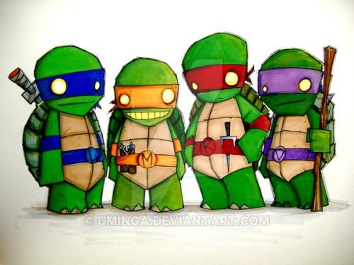 Turtles inspiration