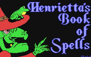 Henrietta's Book of Spells inspiration