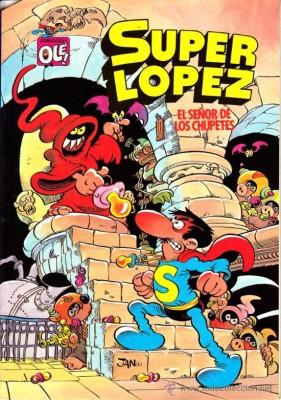 Super Lopez - El Senor de los Chupetes inspiration
