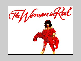 The Woman In Red inspiration
