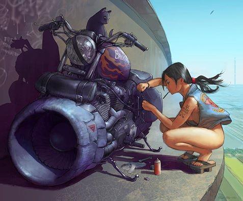 Skybike inspiration