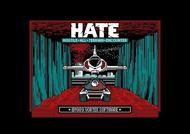 H.A.T.E. inspiration