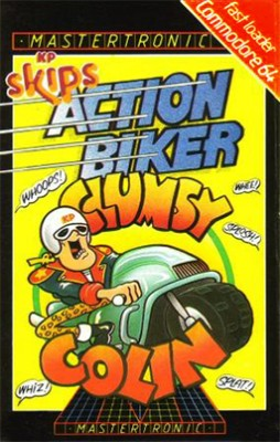 Action Biker Clumsy Colin inspiration