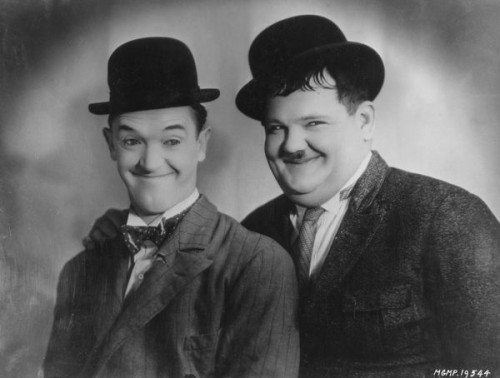 Laurel and Hardy inspiration