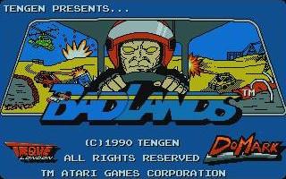 Badlands (title screen) inspiration