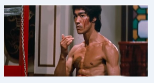 Bruce Lee RX inspiration