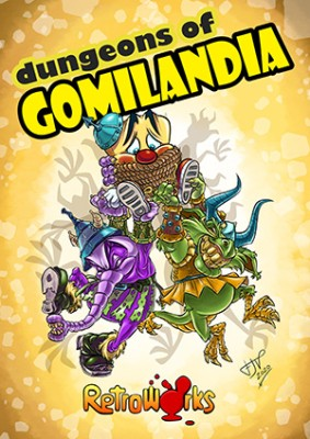 Dungeons of Gomilandia inspiration