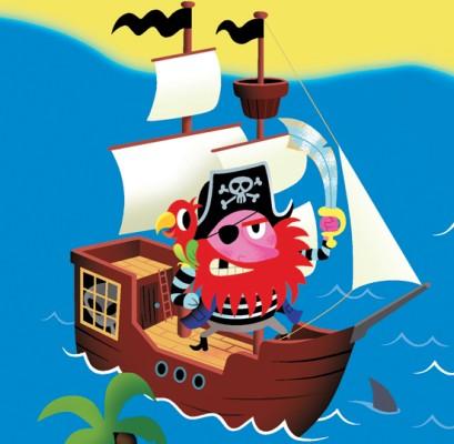 ADVENTURON pirate inspiration