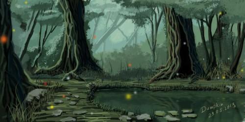 Mistery swamp inspiration