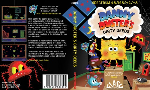Danny Duster's Dirty Deeds inspiration