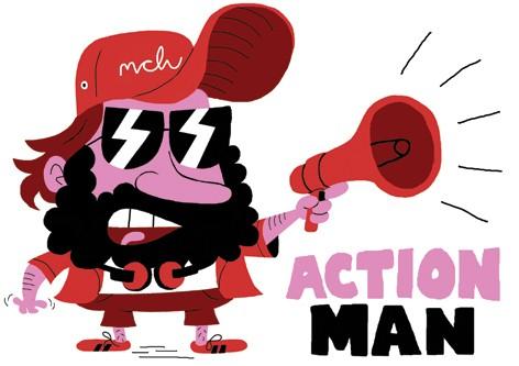 Action Man inspiration
