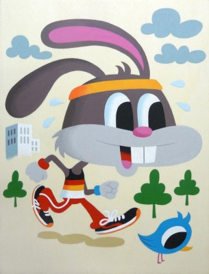 Mr Rabbit inspiration