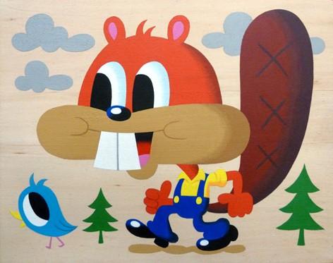 Mr Beaver inspiration