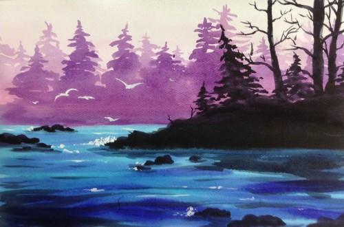 На розовом озере inspiration