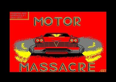 Motor Massacre inspiration
