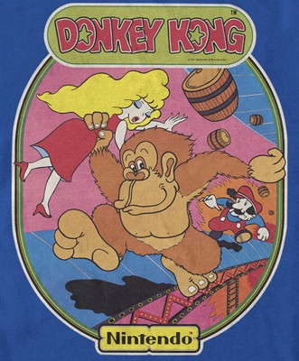 Donkey Kong inspiration