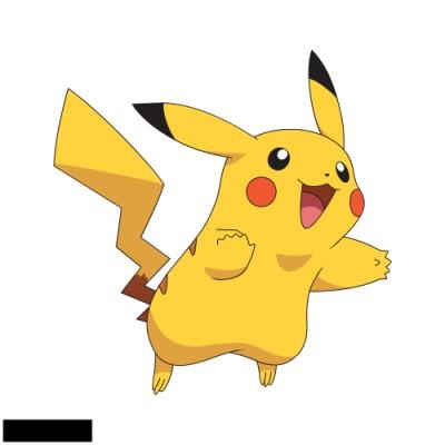 Pikachu (w/ border) inspiration