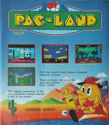 Pac-Land inspiration